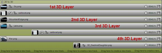 Creating Slideshow Layers for the 3D Effect