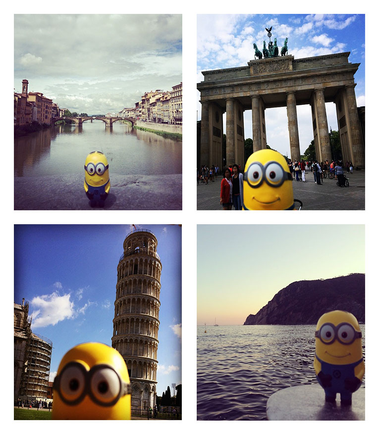 Gio through Europe