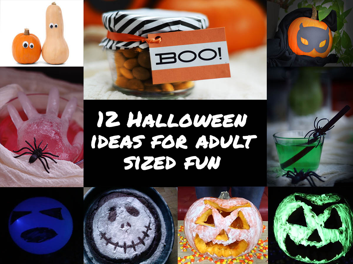 Halloween ideas for adult sized fun